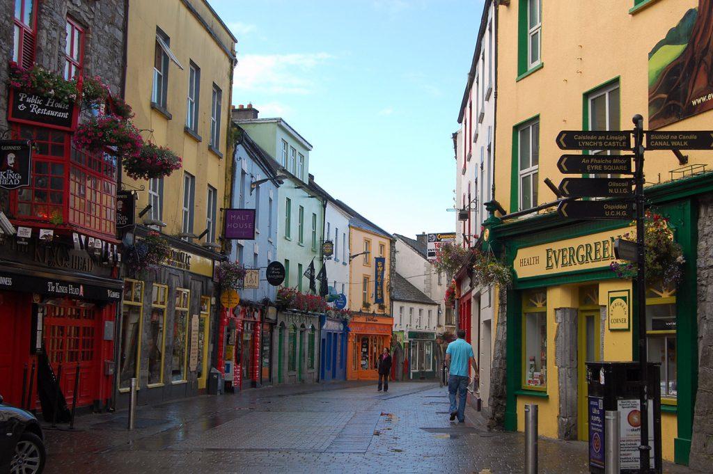 Galway city film location Ireland