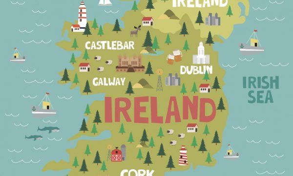 Irish Map Film Locations